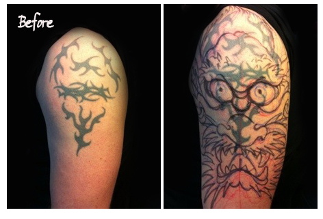cover up before