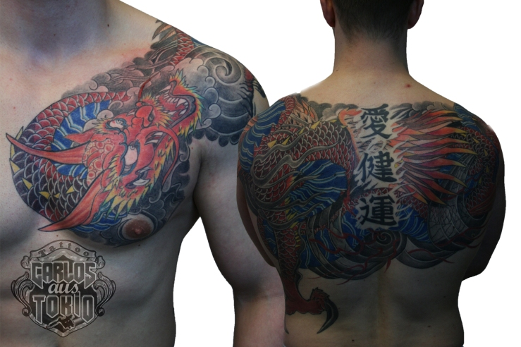 hiryuu japanese tattoo