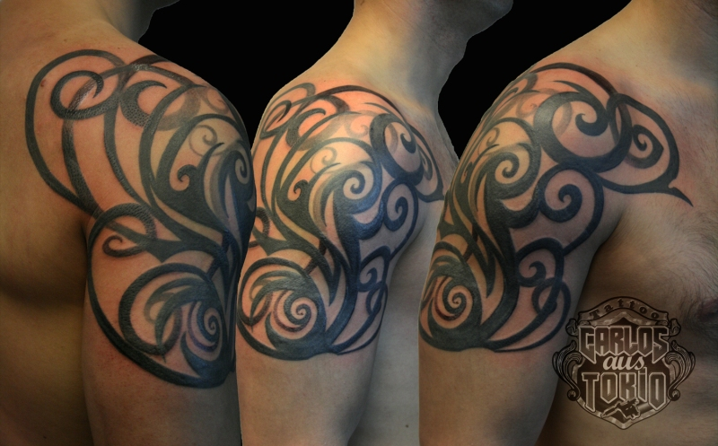 tribal tattoo carlos aus tokio