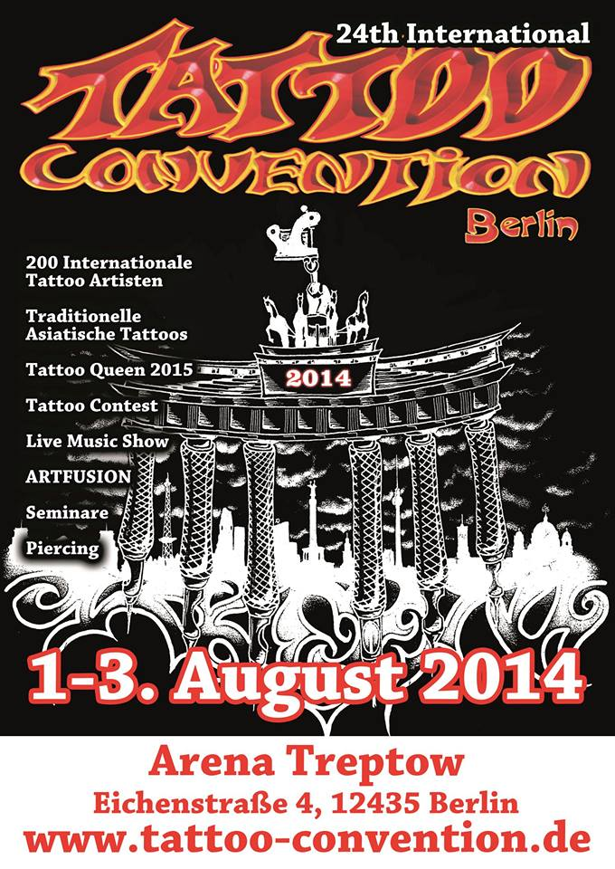 Berlin tattoo convention 2014 Carlos aus Tokio