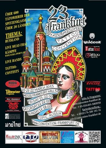 Frankfurt tattoo convention 2015