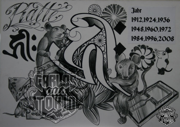 bonji tattoo design1