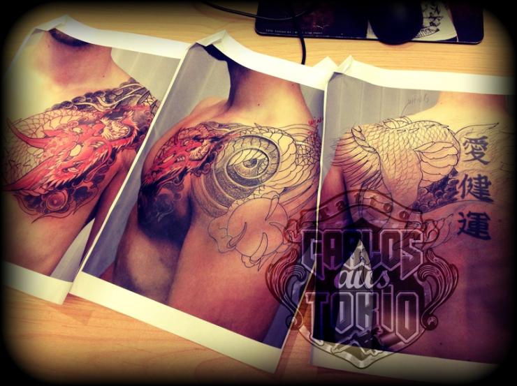 japanische mythologie tattoo deutschland 2