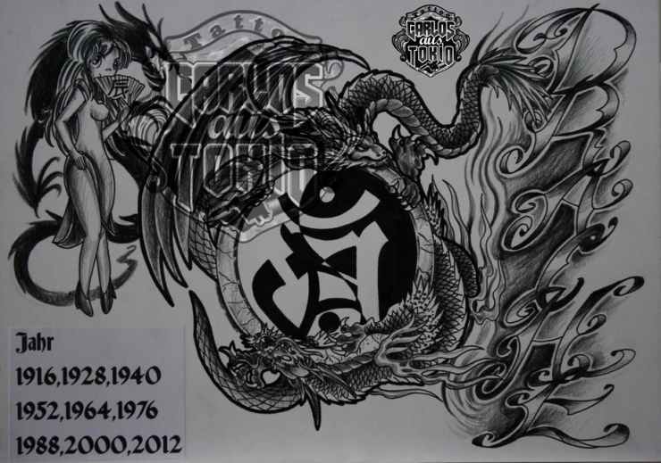 bonji tattoo design10