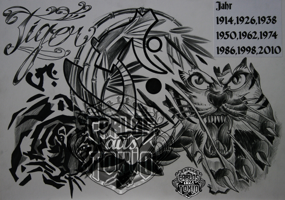 bonji tattoo design5