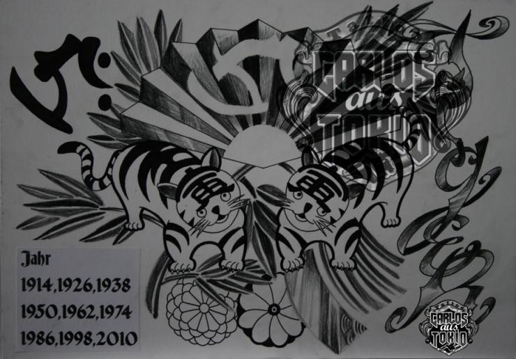 bonji tattoo design6