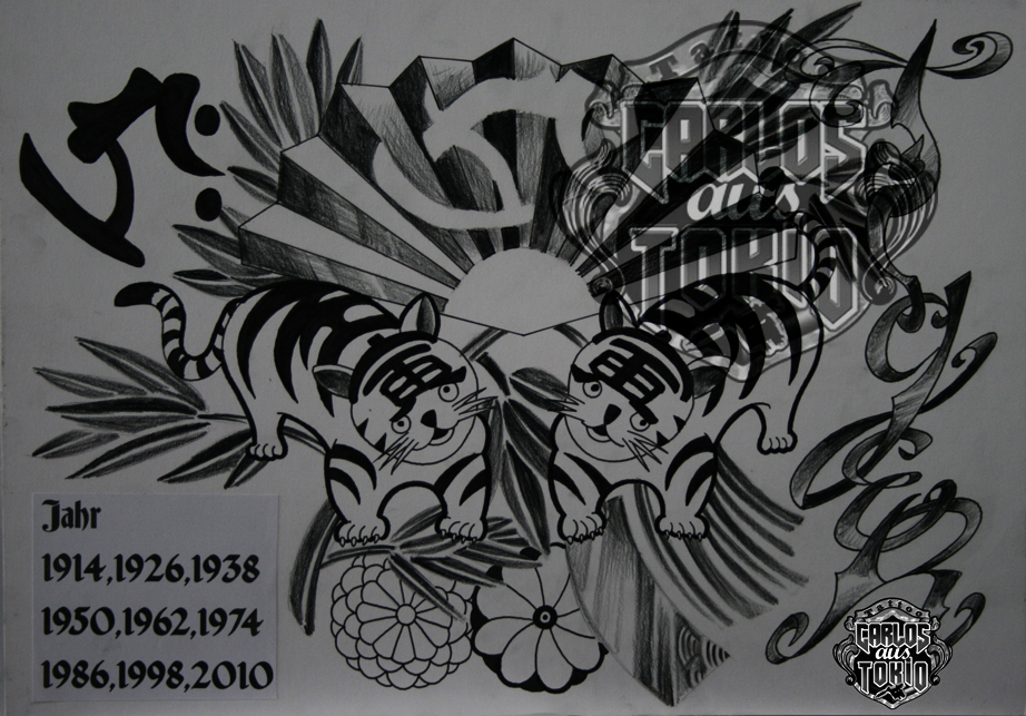 bonji tattoo design6
