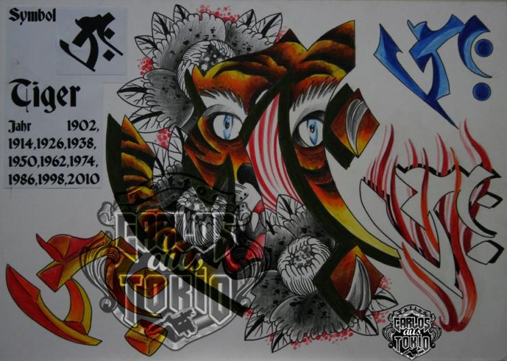 bonji tattoo design6a