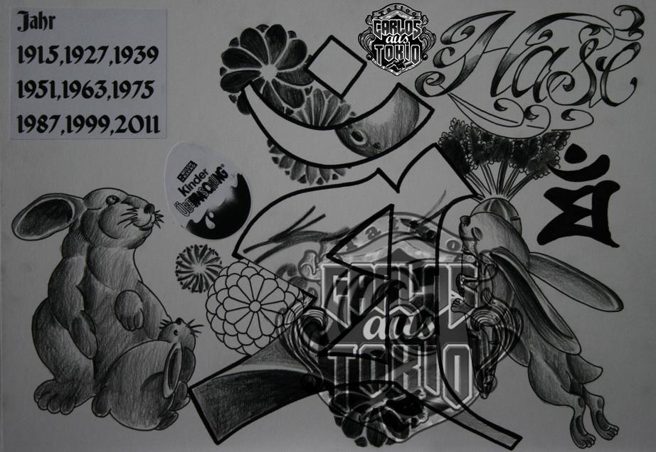 Tattoo altdeutsche schrift als picture