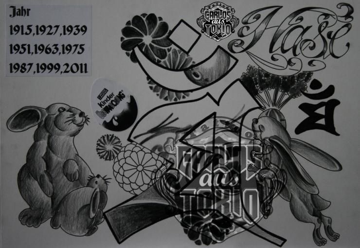 bonji tattoo design7