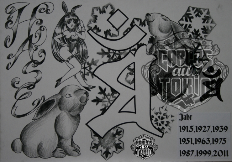 bonji tattoo design8