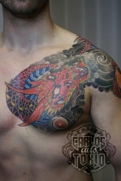 Hiryu Japanische drache tattoo2
