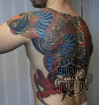 Hiryu Japanische drache tattoo3