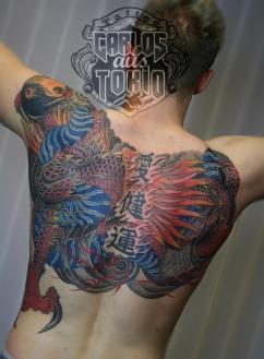 Hiryu Japanische drache tattoo4