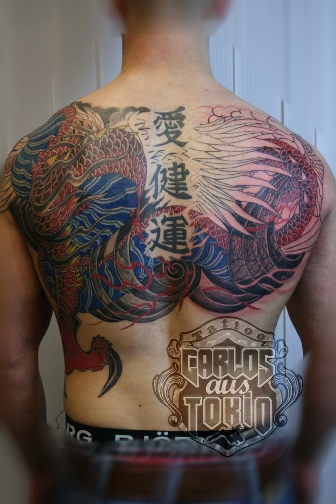 japanisch drache tattoo