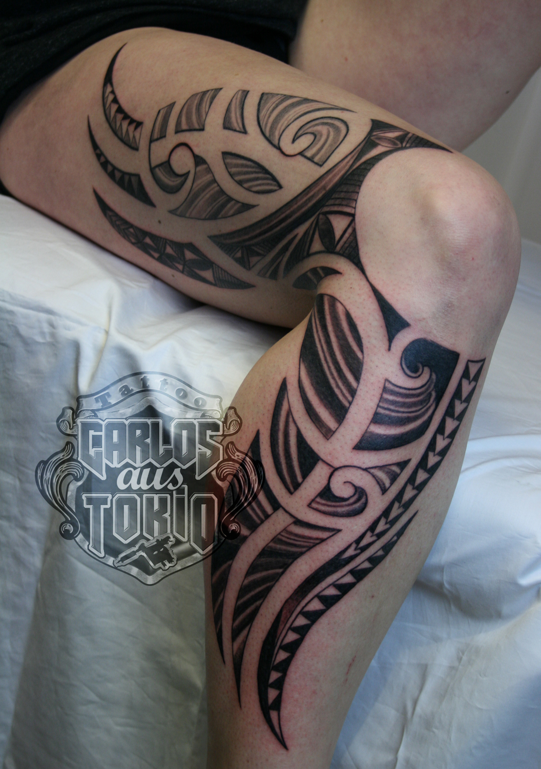lady s maori tribal tattoo3 carlos tattoo. Black Bedroom Furniture Sets. Home Design Ideas