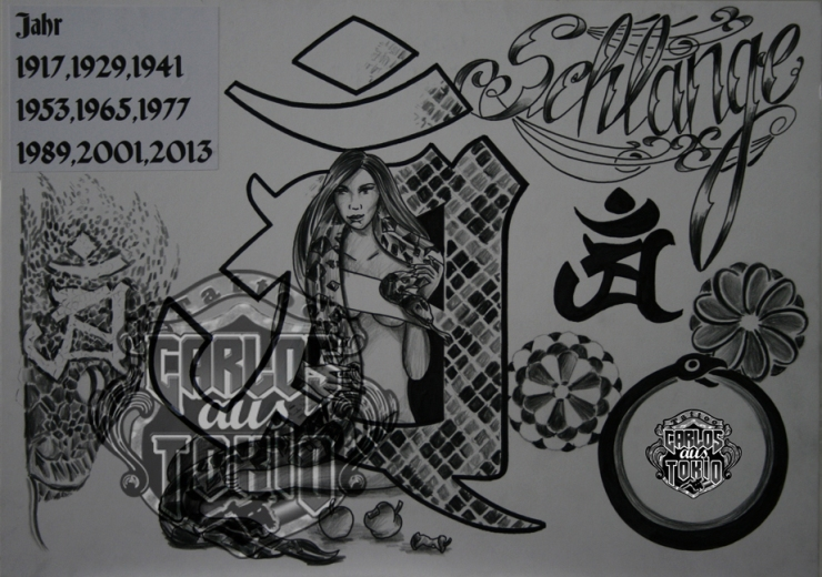 bonji tattoo design11