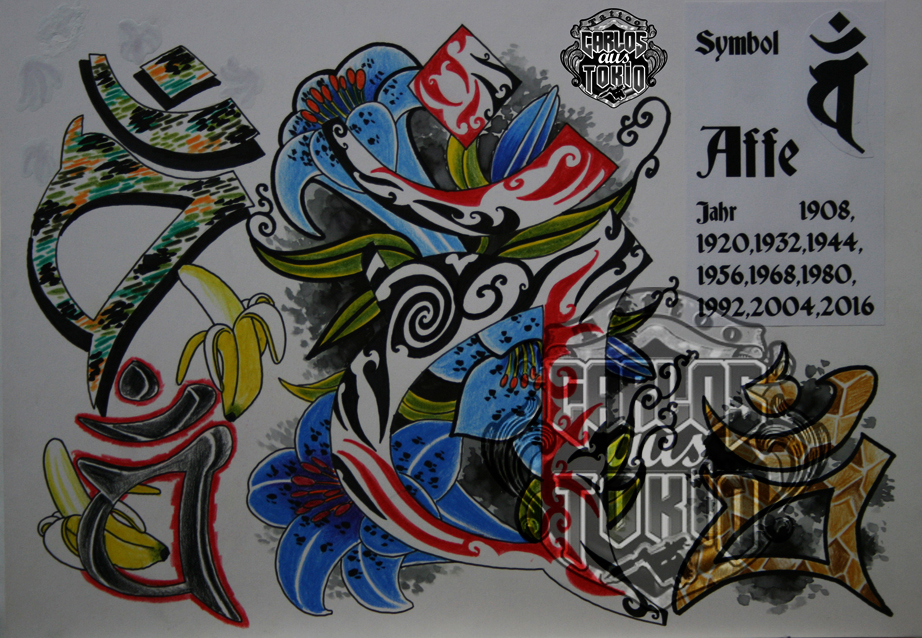 bonji tattoo design18a
