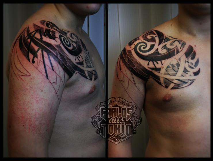 hybrid maori tattoo1