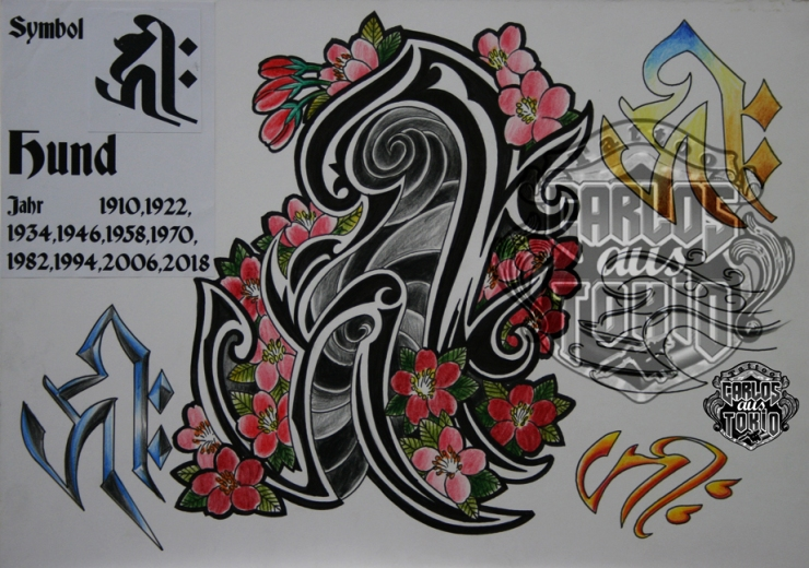 bonji tattoo design22a