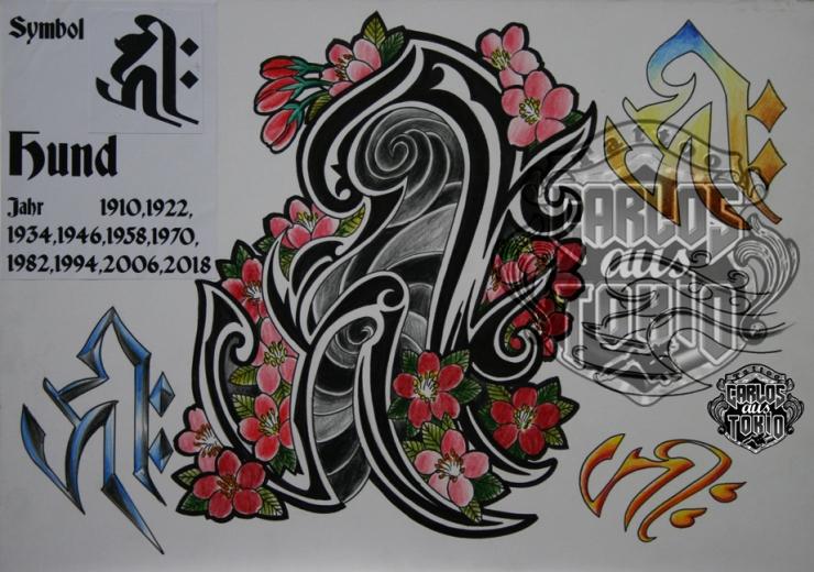 bonji tattoo design22a