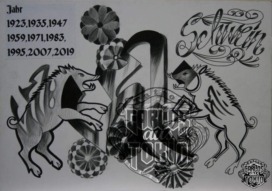 bonji tattoo design23