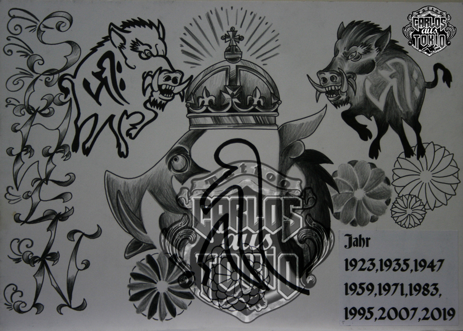 bonji tattoo design24