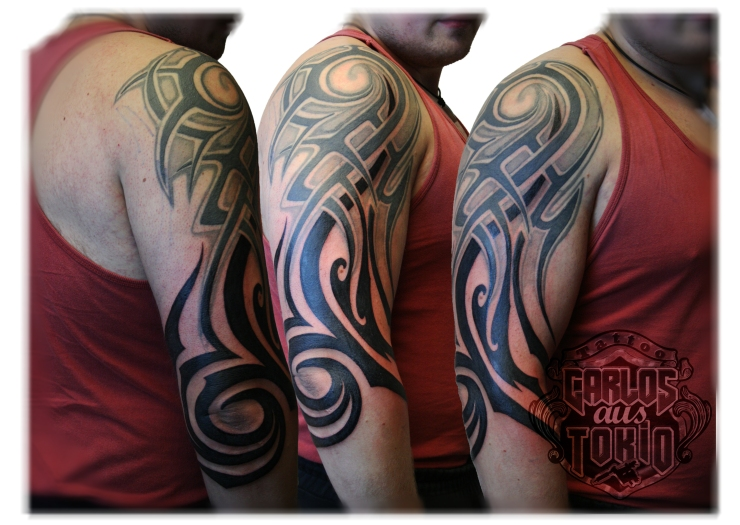 connecting new tattoo tribal3