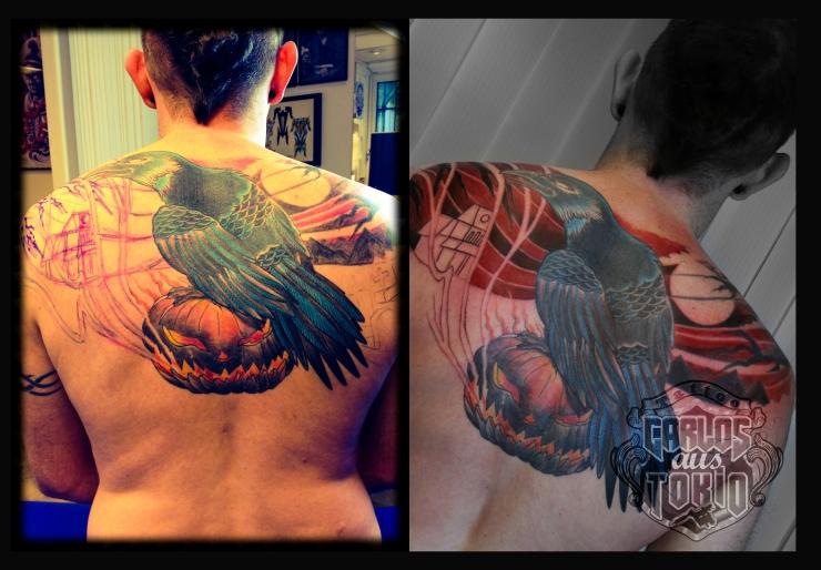 crow tattoo1