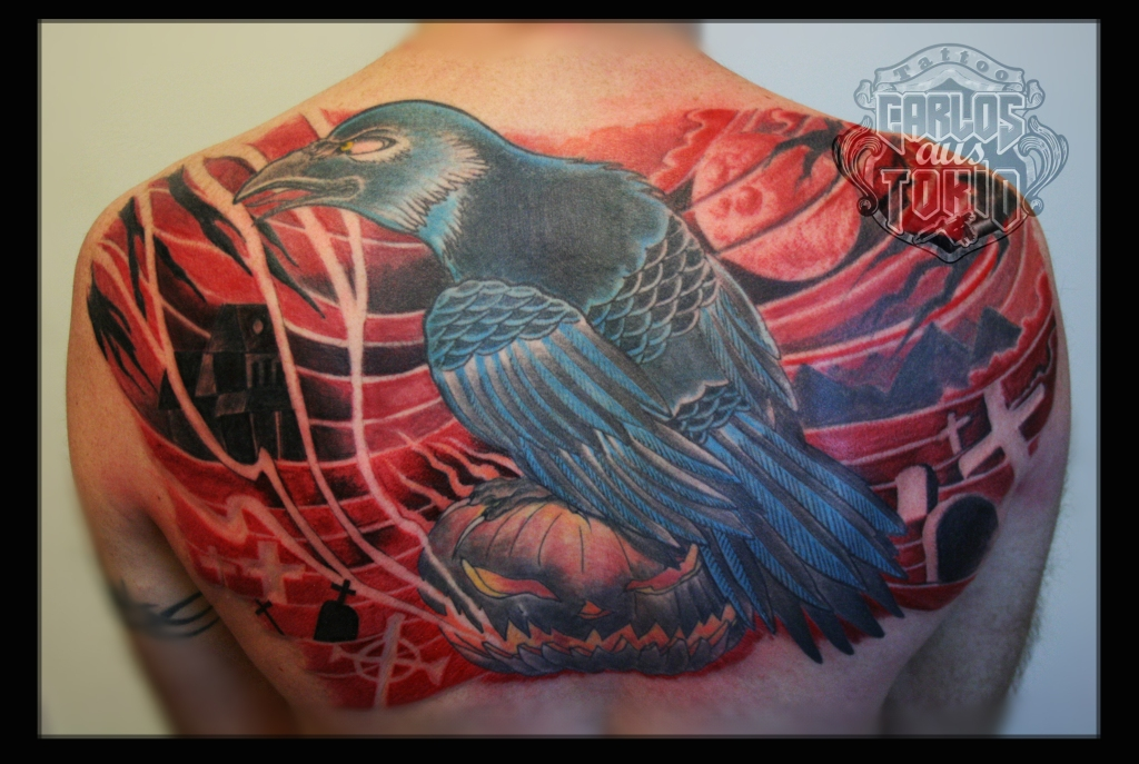crow tattoo1