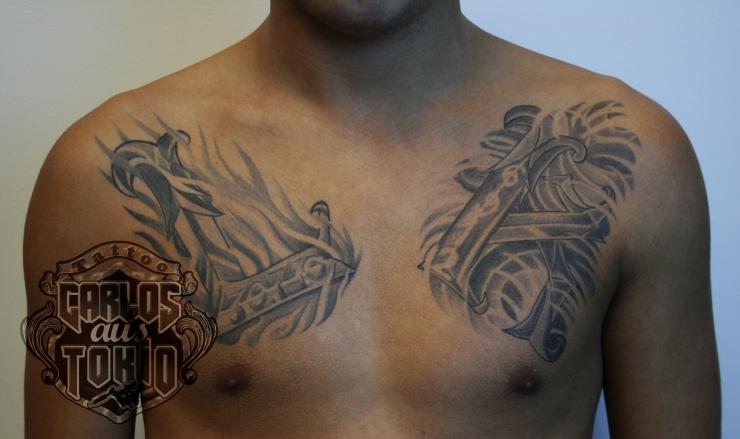 lettering tattoo1