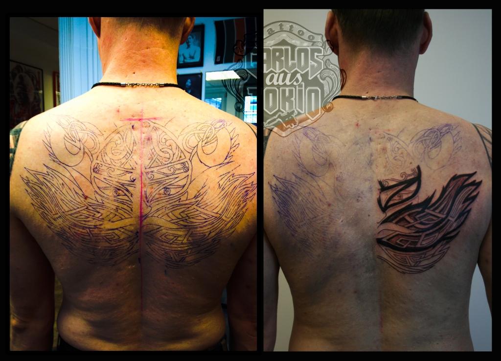 viking tribal tattoo