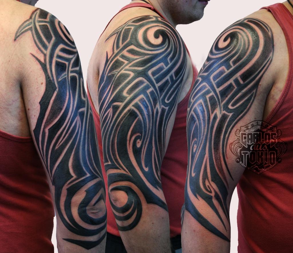 adding new tribal tattoo