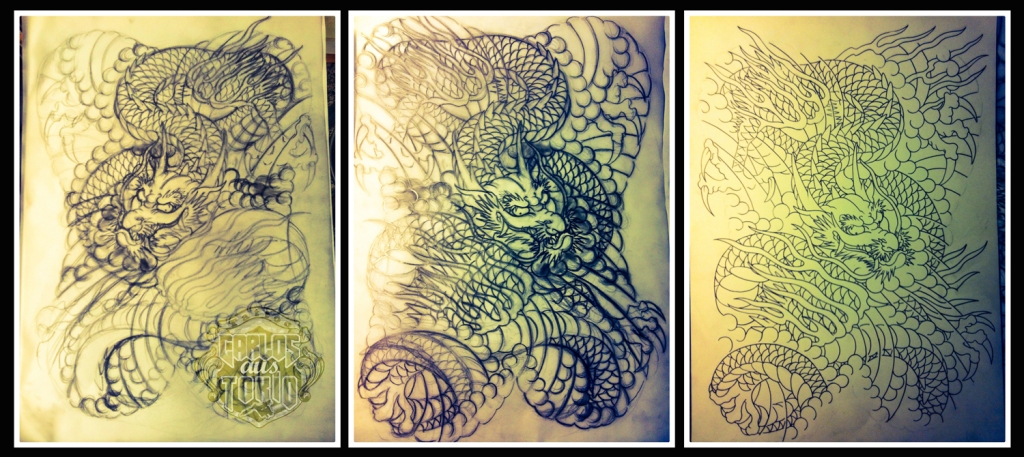 dragon tattoo design1