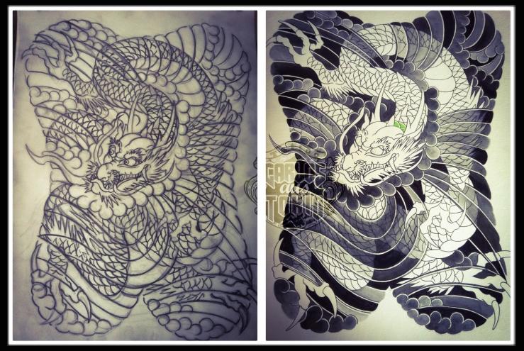 dragon tattoo design2