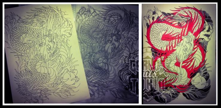 dragon tattoo design3