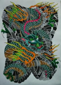 japanese dragon tattoo2