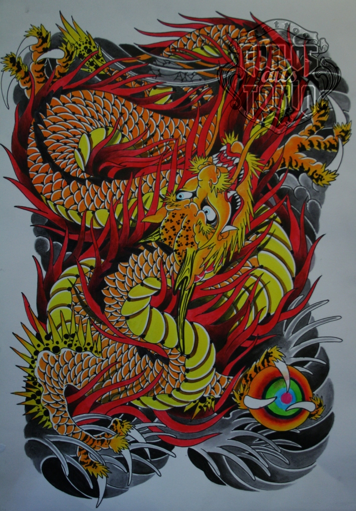 japanese dragon tattoo3