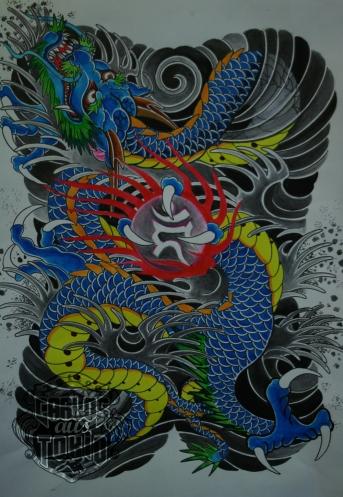japanese dragon tattoo3