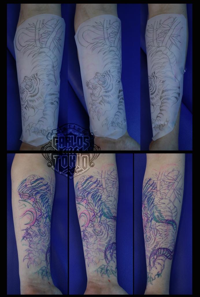 japanese tiger tattoo1