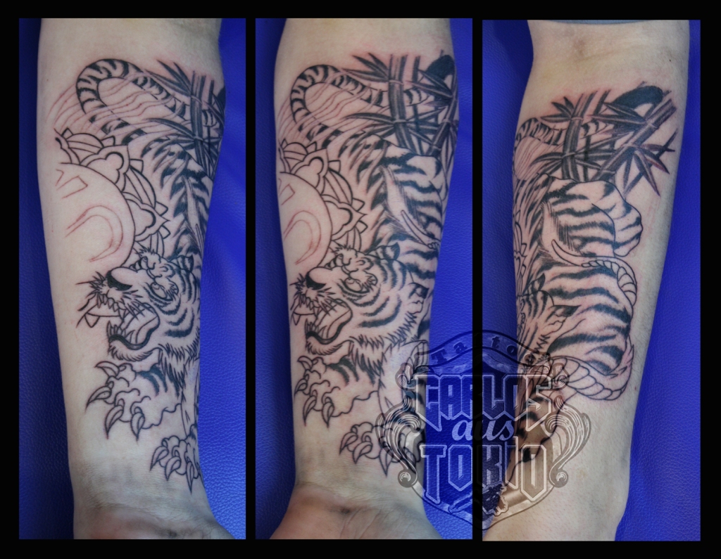 japanese tiger tattoo2