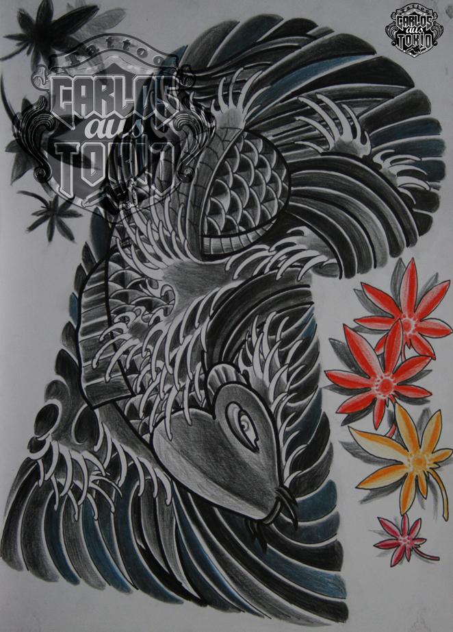 japanische koi tattoo15
