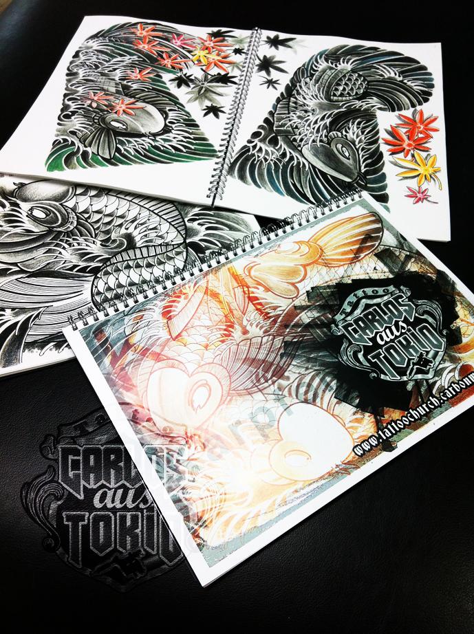 japanische koi tattoo30