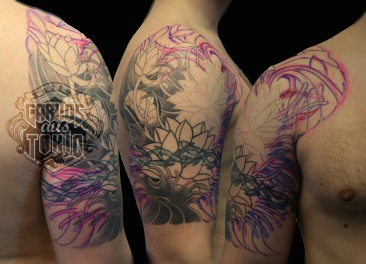 lotus tattoo 1