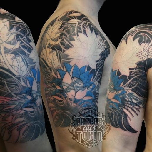 lotus tattoo 2
