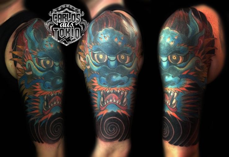 tattoo expo leipzig japanische drache tattoo2