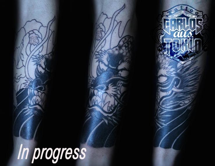 tattoo expo leipzig japanische drache tattoo5
