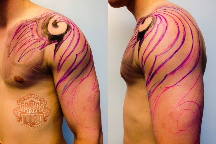 tribal arm tattoo1
