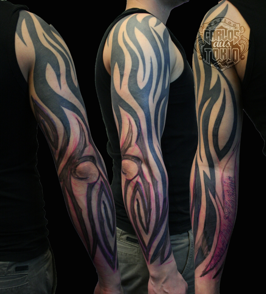 tribal arm tattoo2