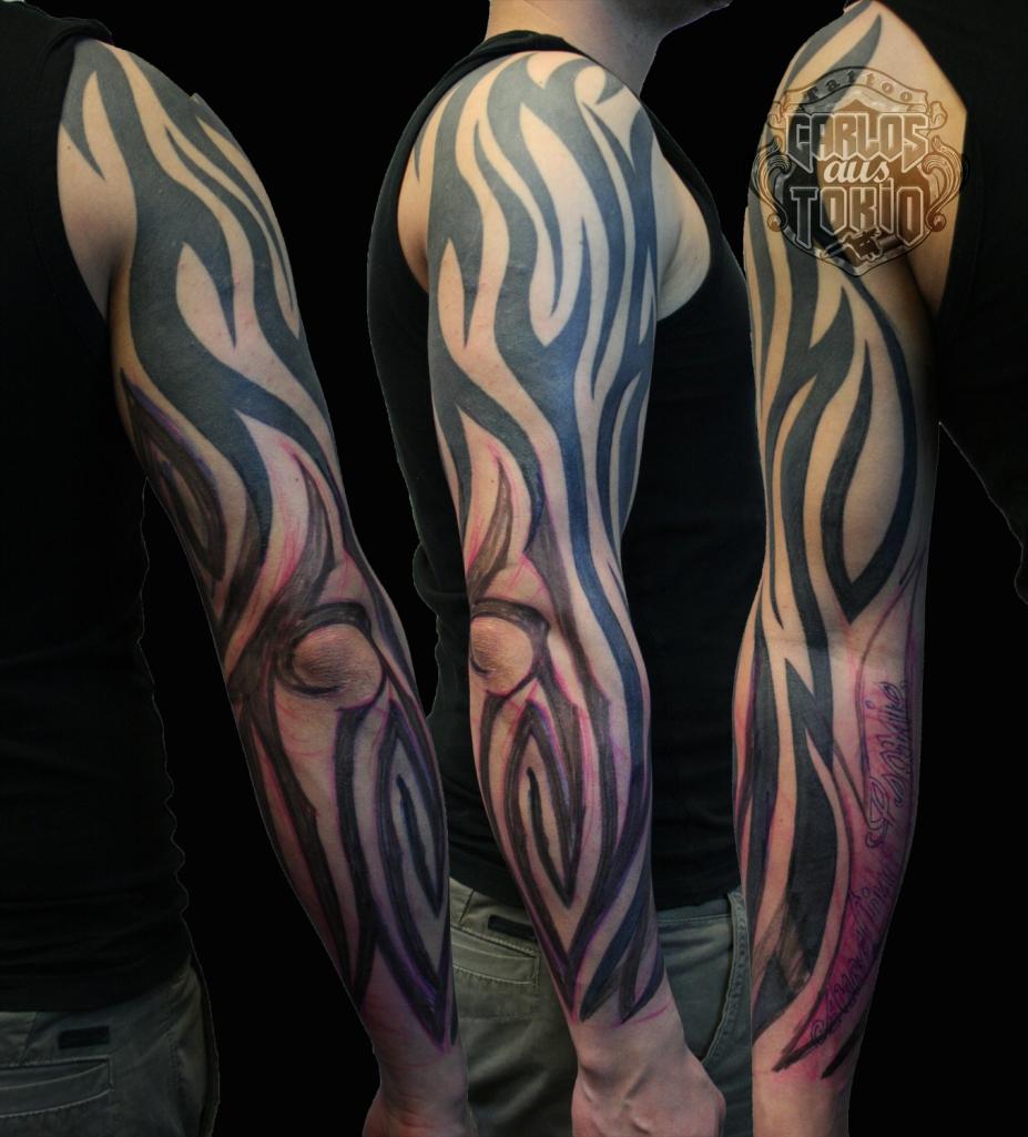 tribal arm tattoo2